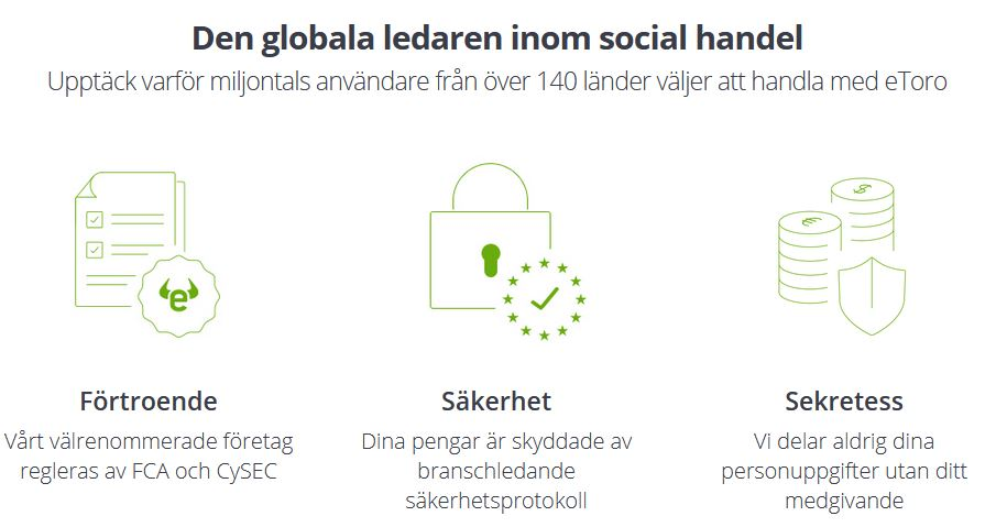 etoro - Den globala ledaren inom social handel
