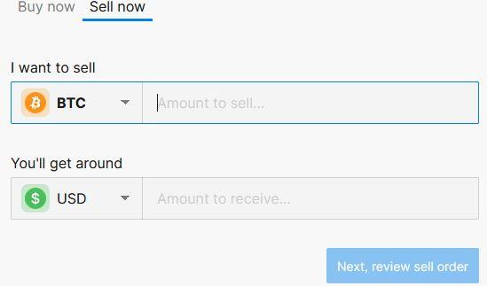 det är lika lätt att sälja kryptovaluta via bittrex