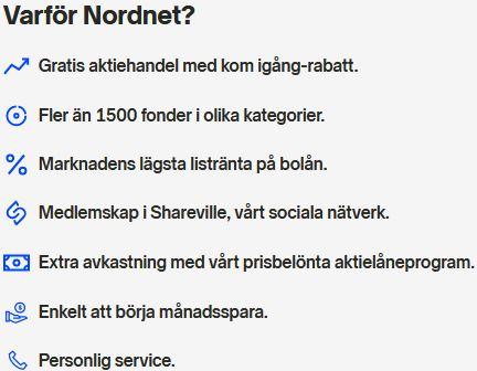 anledningar till att välja nordnet