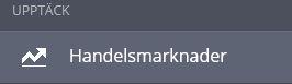 klicka på handelsmarknader för att se vilka marknader som finns tillgänliga för köp på etoro