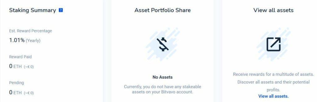 Hur man använder staking hos Bitvavo