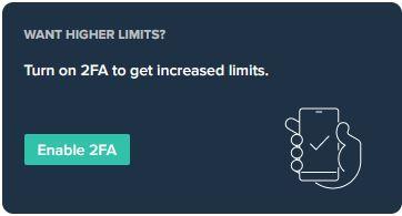 Aktivering av 2FA för att få tillgång till fler funktioner
