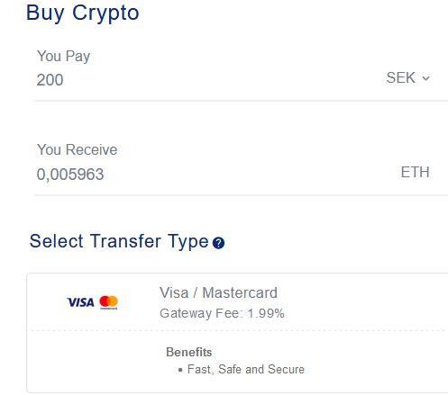 Köp kryptovaluta via Appleplay hos OKEx