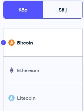 köp bitcoin på trijo