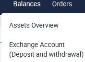 Uttag av kryptovaluta till bankkonto