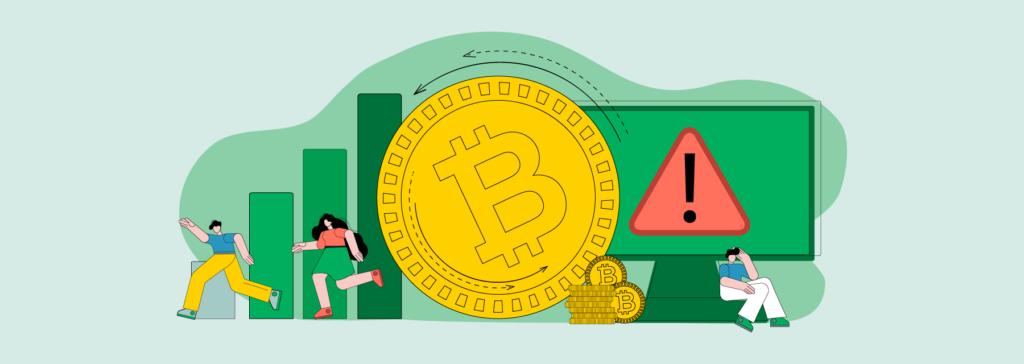 risker med bitcoin