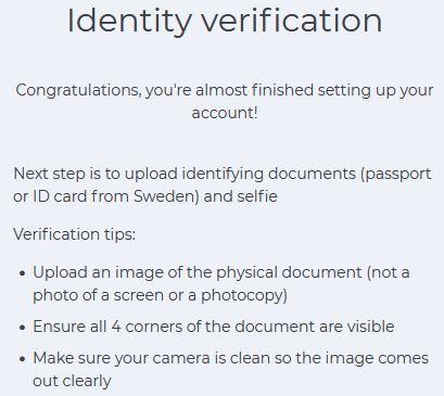 Verifiering av identitet hos Simplex