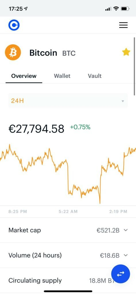 time to sell cryptocurrency on coinbase