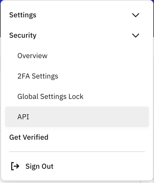 generate an API key for kraken pro