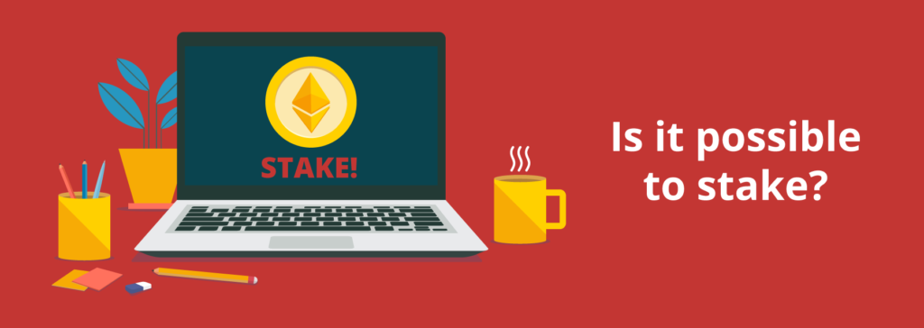 Can you stake from a desktop wallet?
