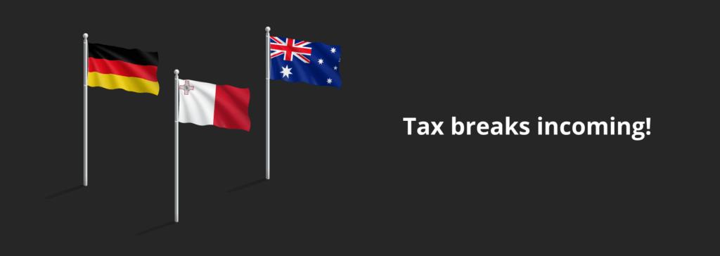 Discounts on crypto tax bill