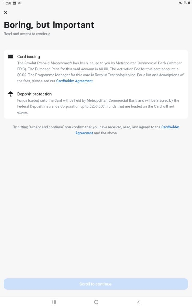 Terms and conditions Revolut
