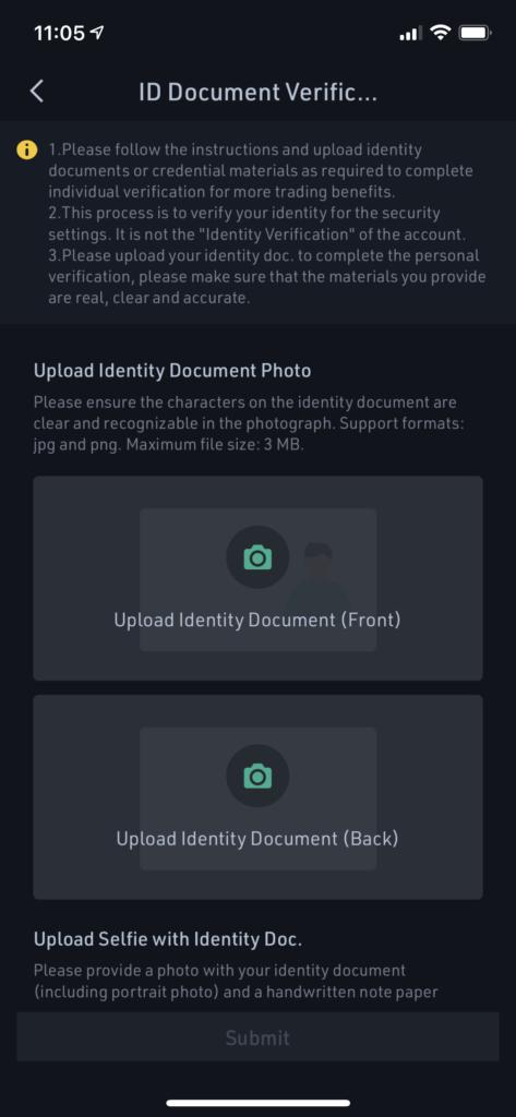 Select ID at KuCoin