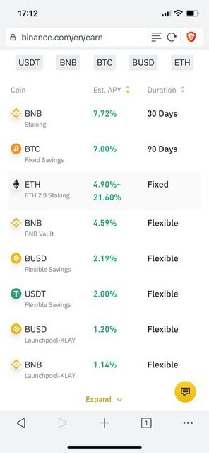it is possible to earn cryptocurrency on binance by lending it out and earning interest