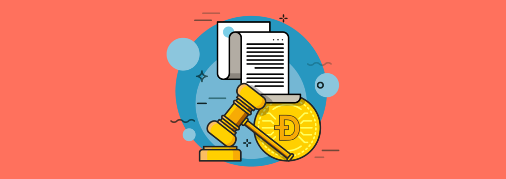 dogecoin is legal in most jurisdictions