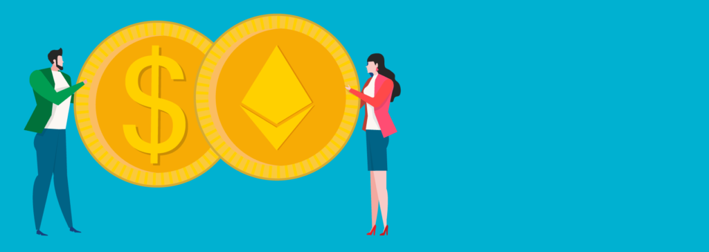 how to pay for ether
