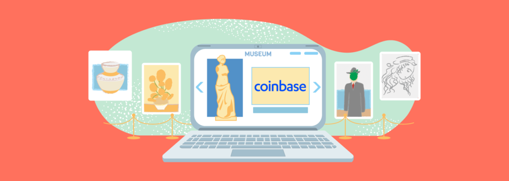 the history of coinbase